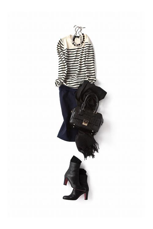 今年のタイトスカートはラフに、<br>キュートに着こなしたい!