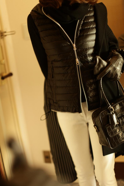 ウールのコートを スポーティーにイメージチェンジ!7