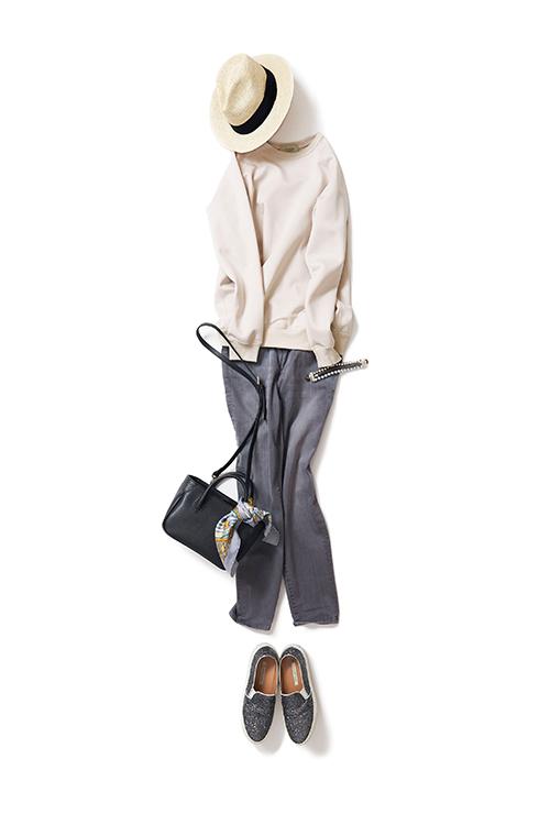 新しいムードで着るデニムスタイル