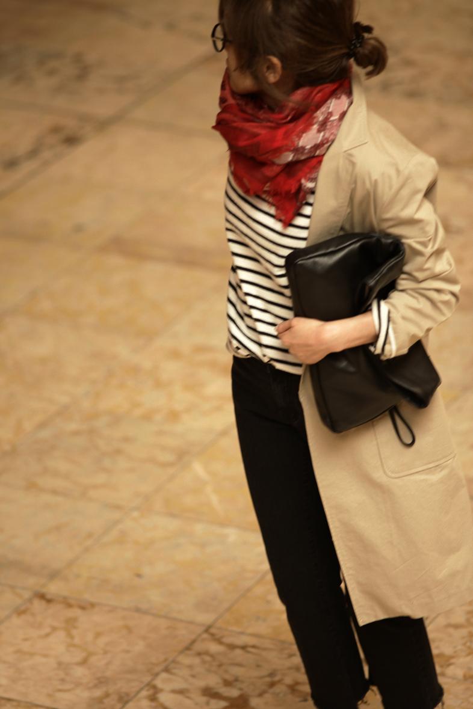 赤・白・黒のフレンチスタイル6