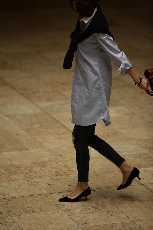 メンズアイテムを女っぽく着るなら…5