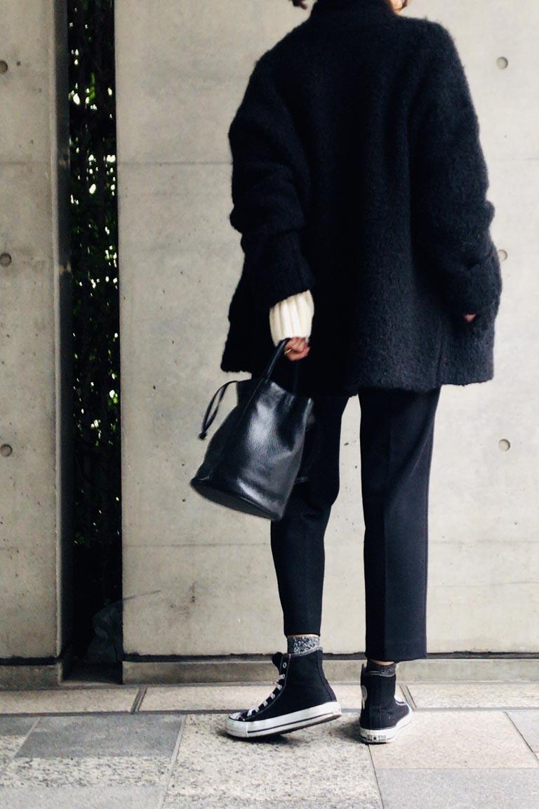フレンチ風black&white