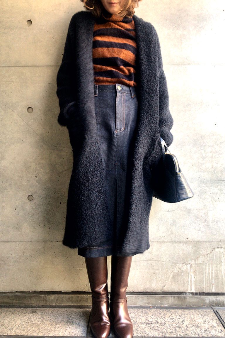 brown x navy@レトロムード3