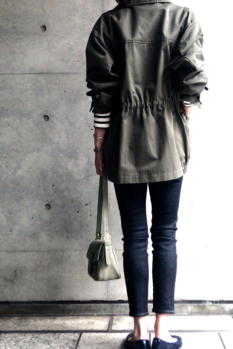 女らしく着るミリタリー4