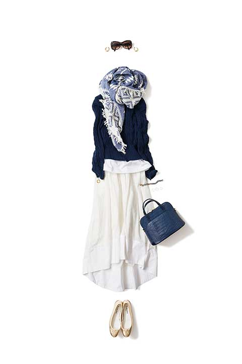 white x navy @ early summer