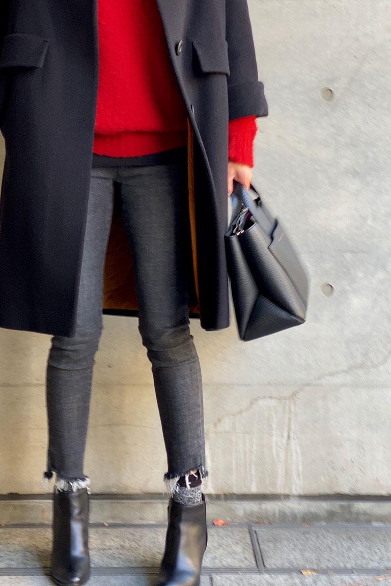 黒×赤のフレンチトラッド10