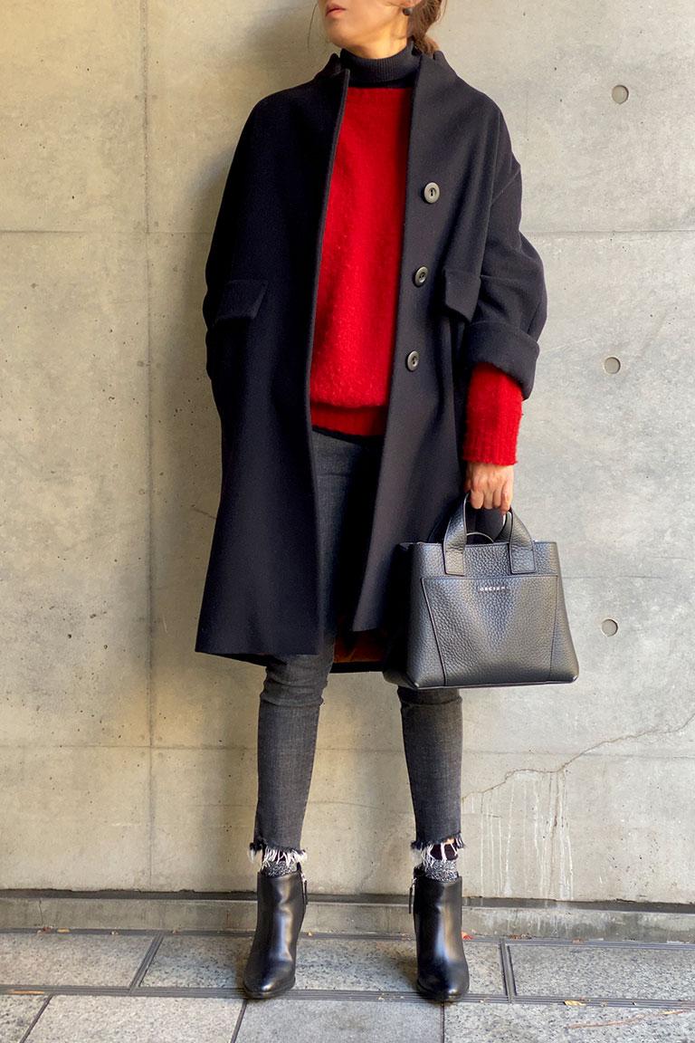 黒×赤のフレンチトラッド12