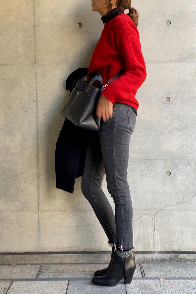 黒×赤のフレンチトラッド2