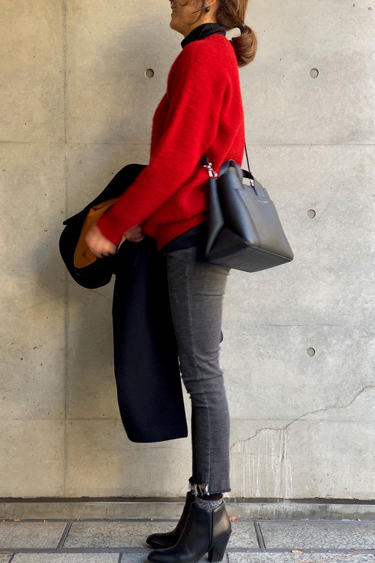 黒×赤のフレンチトラッド3