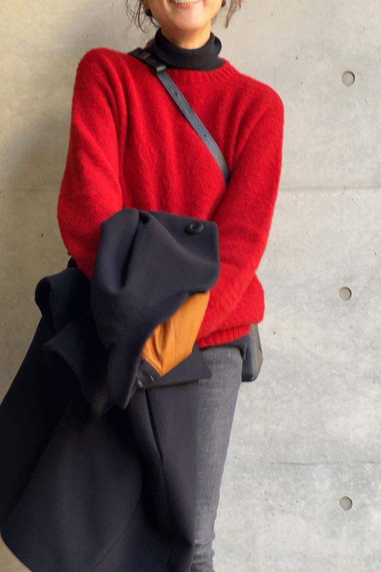 黒×赤のフレンチトラッド4
