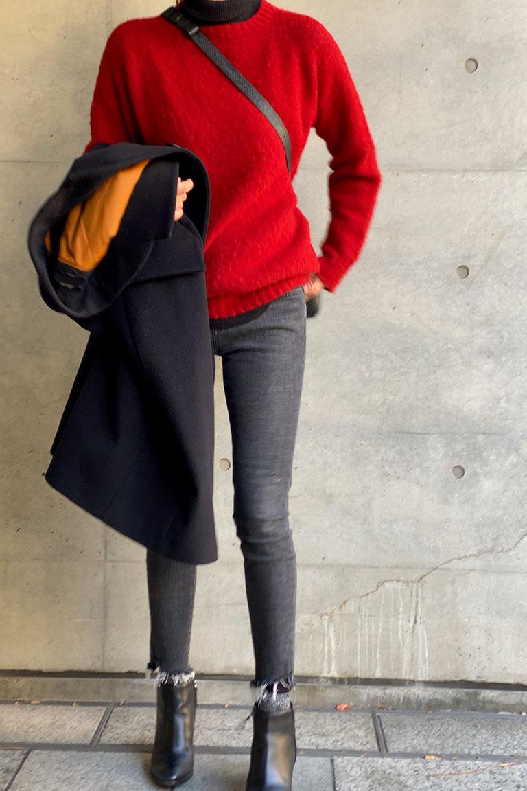 黒×赤のフレンチトラッド5