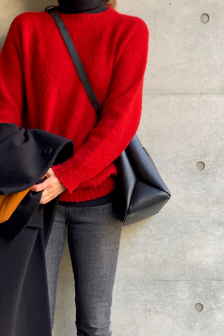 黒×赤のフレンチトラッド6