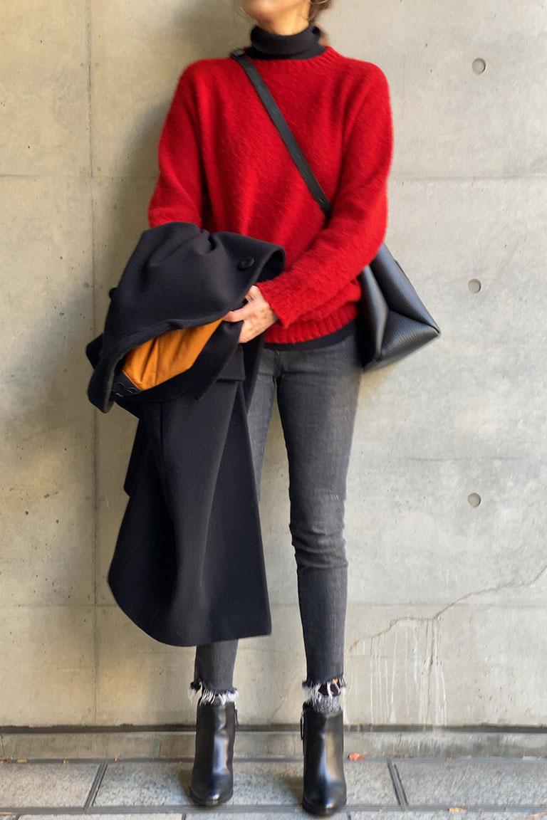 黒×赤のフレンチトラッド7