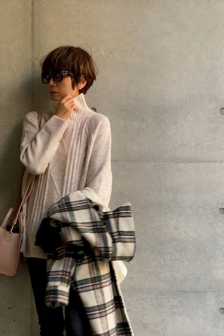 真冬のレイヤーPart2・sweet chic8