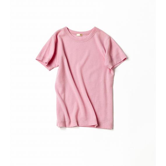 Tシャツ感覚で着る、ピンク!