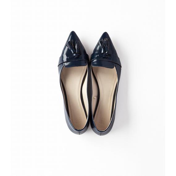 女らしいトラッドな靴