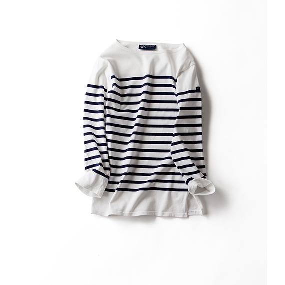 セントジェームスファミリーから、 <br>七分袖バージョンのTシャツ