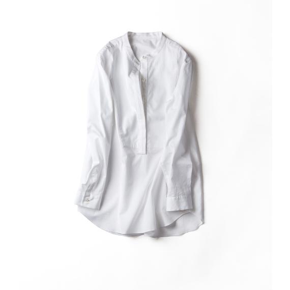 パリの朝が似合う、白シャツ