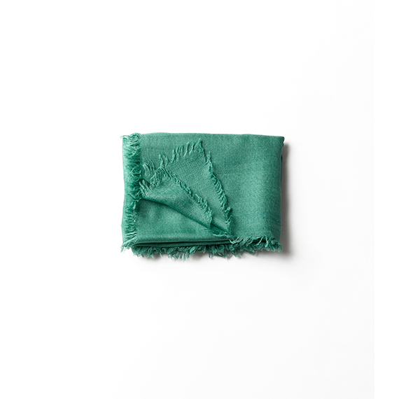 komaのマシュマロみたいなストール・緑青