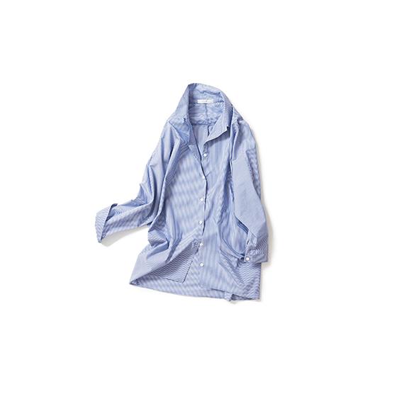 ハンサムでセクシーなストライプシャツ