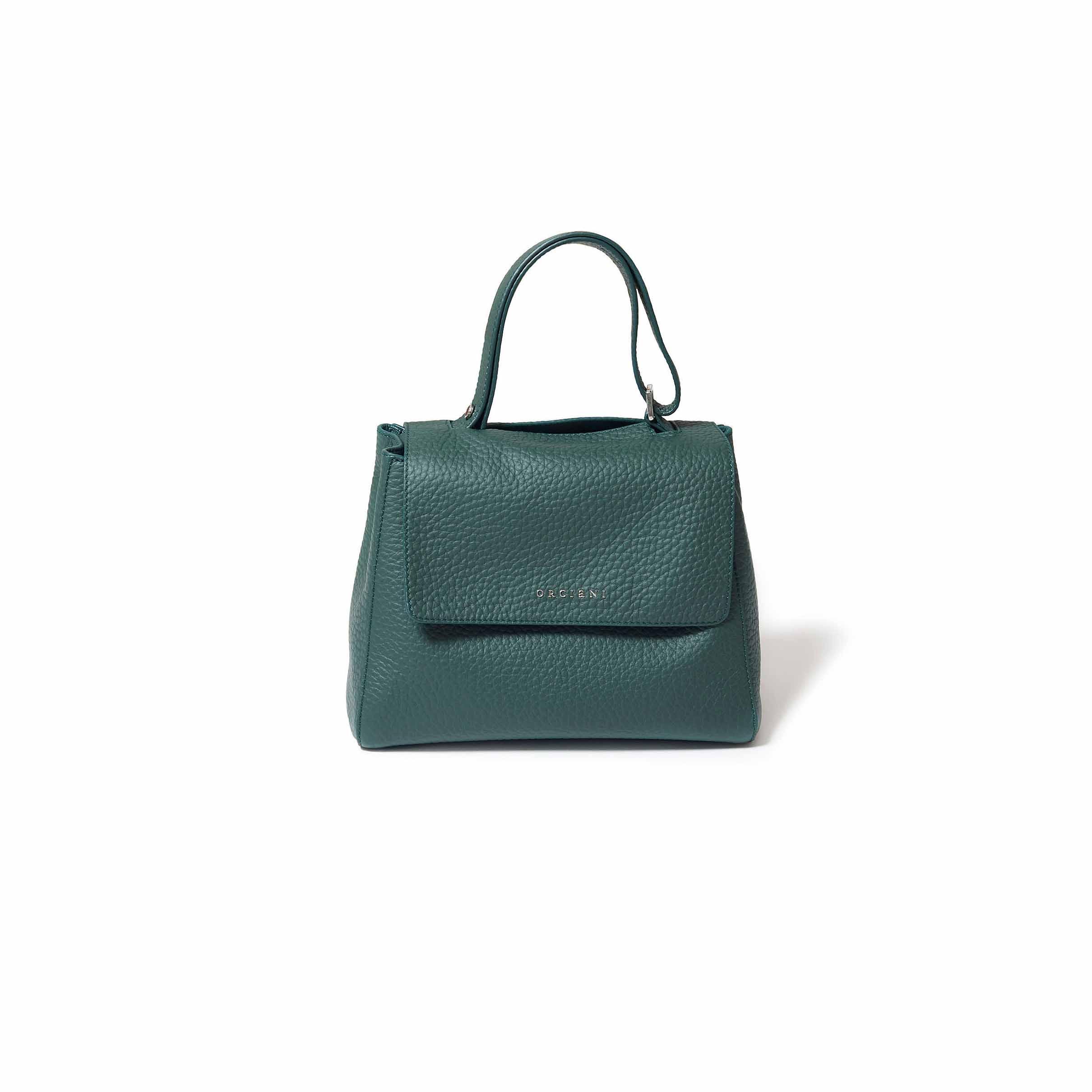 シンプルさが魅力のハンドバッグ