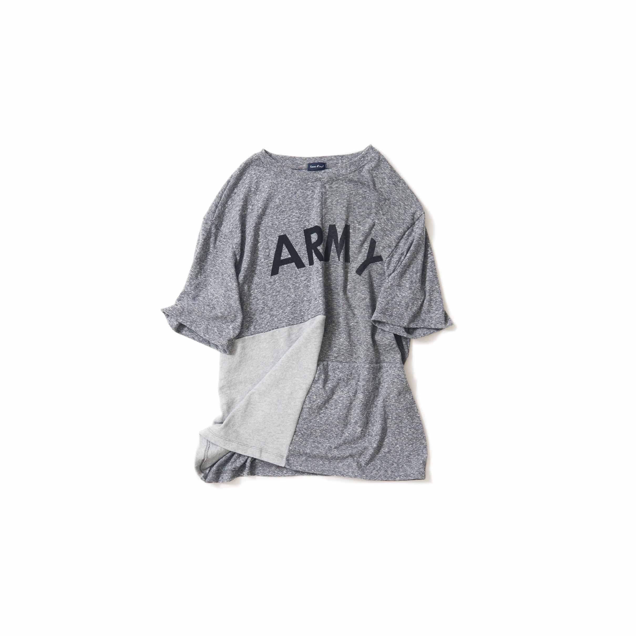 冬もTシャツ