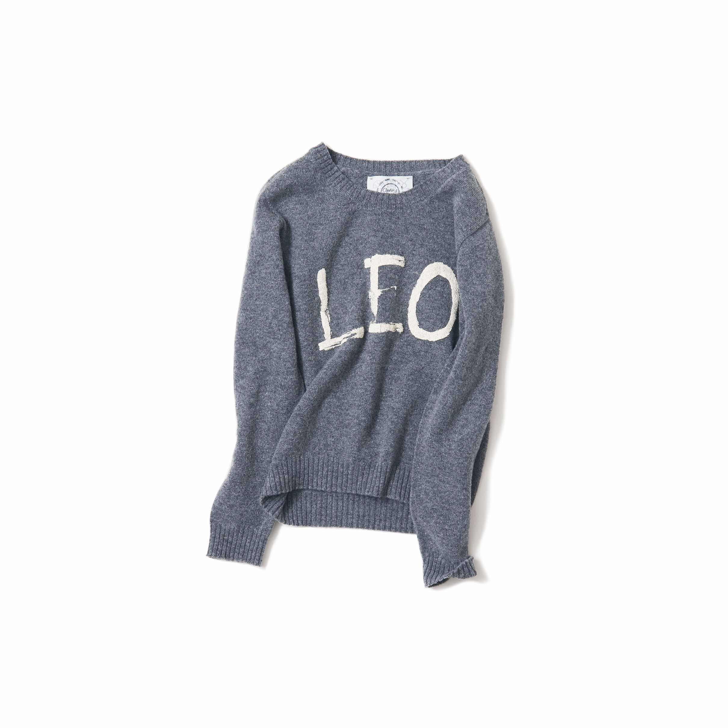 LEO・grey&White