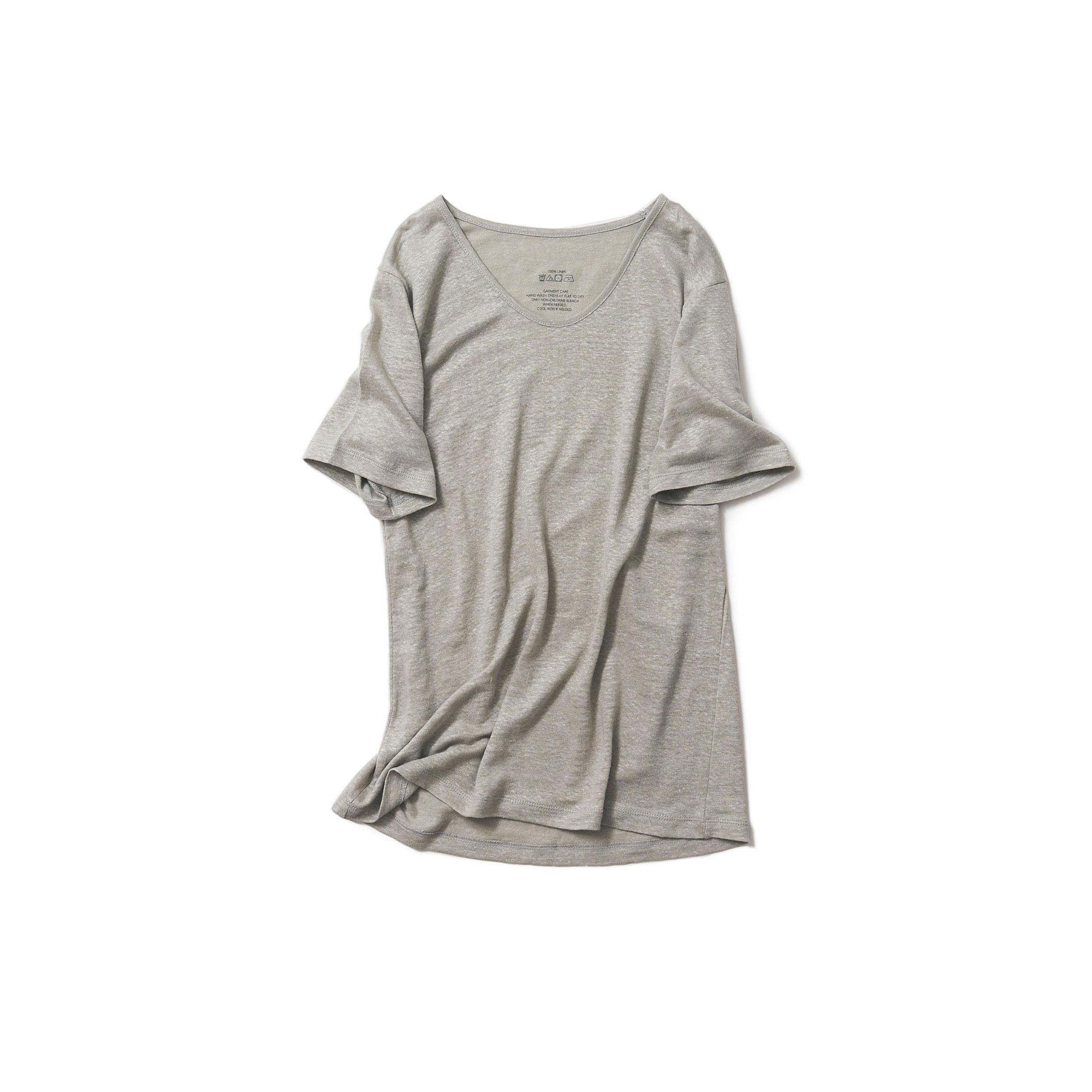 ナチュラルTシャツ・グレー