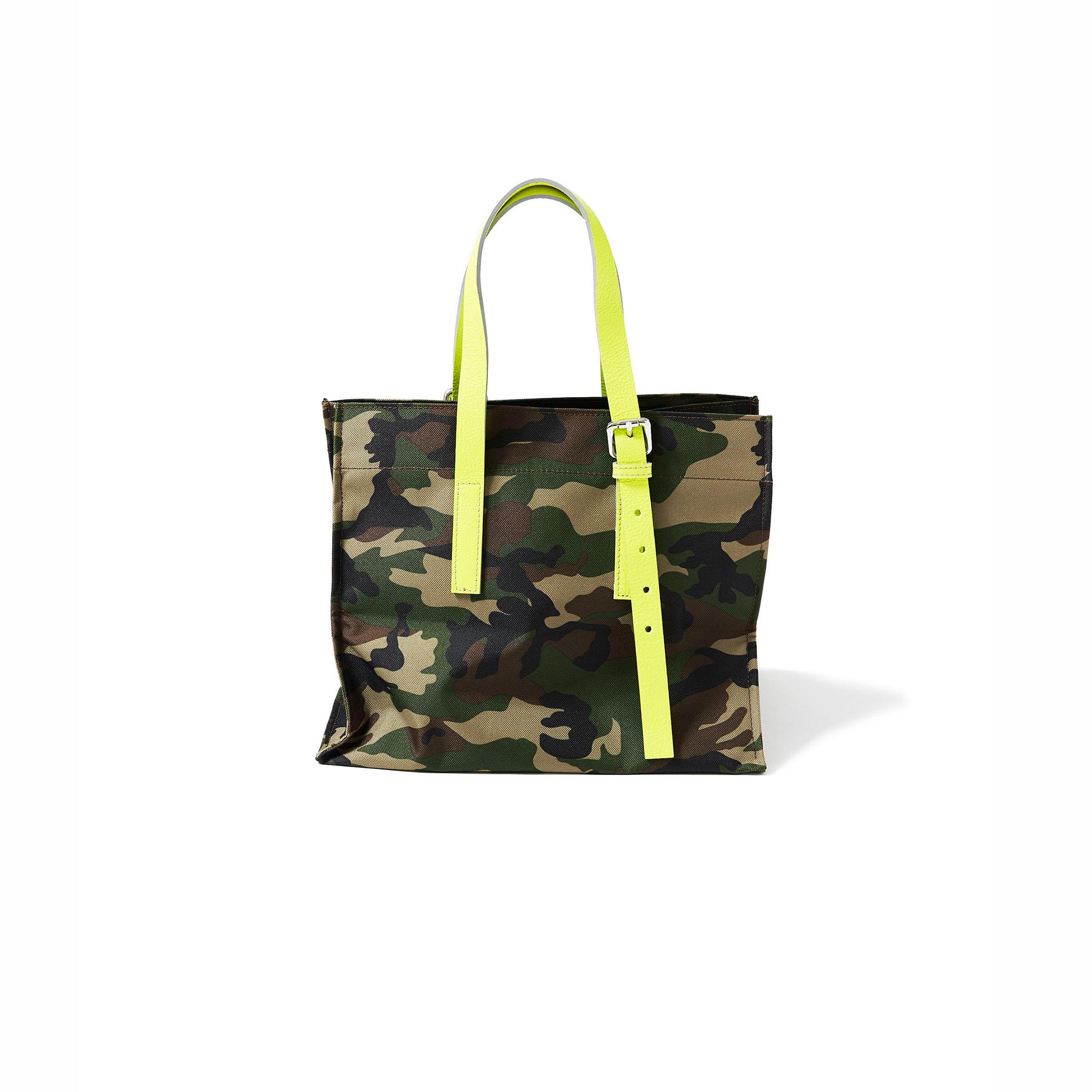 ミリタリーバッグ・khaki × giallo