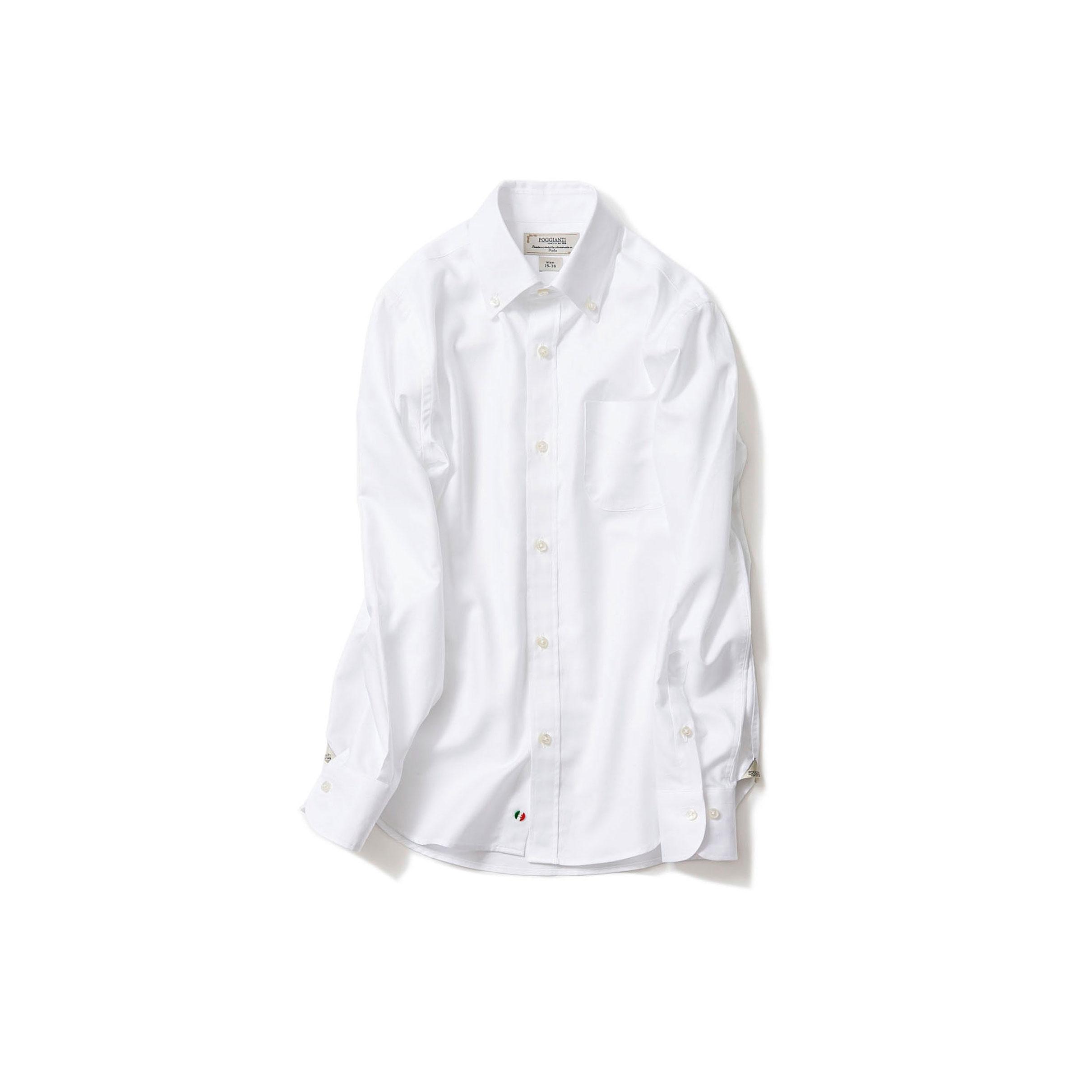 最愛の白シャツ