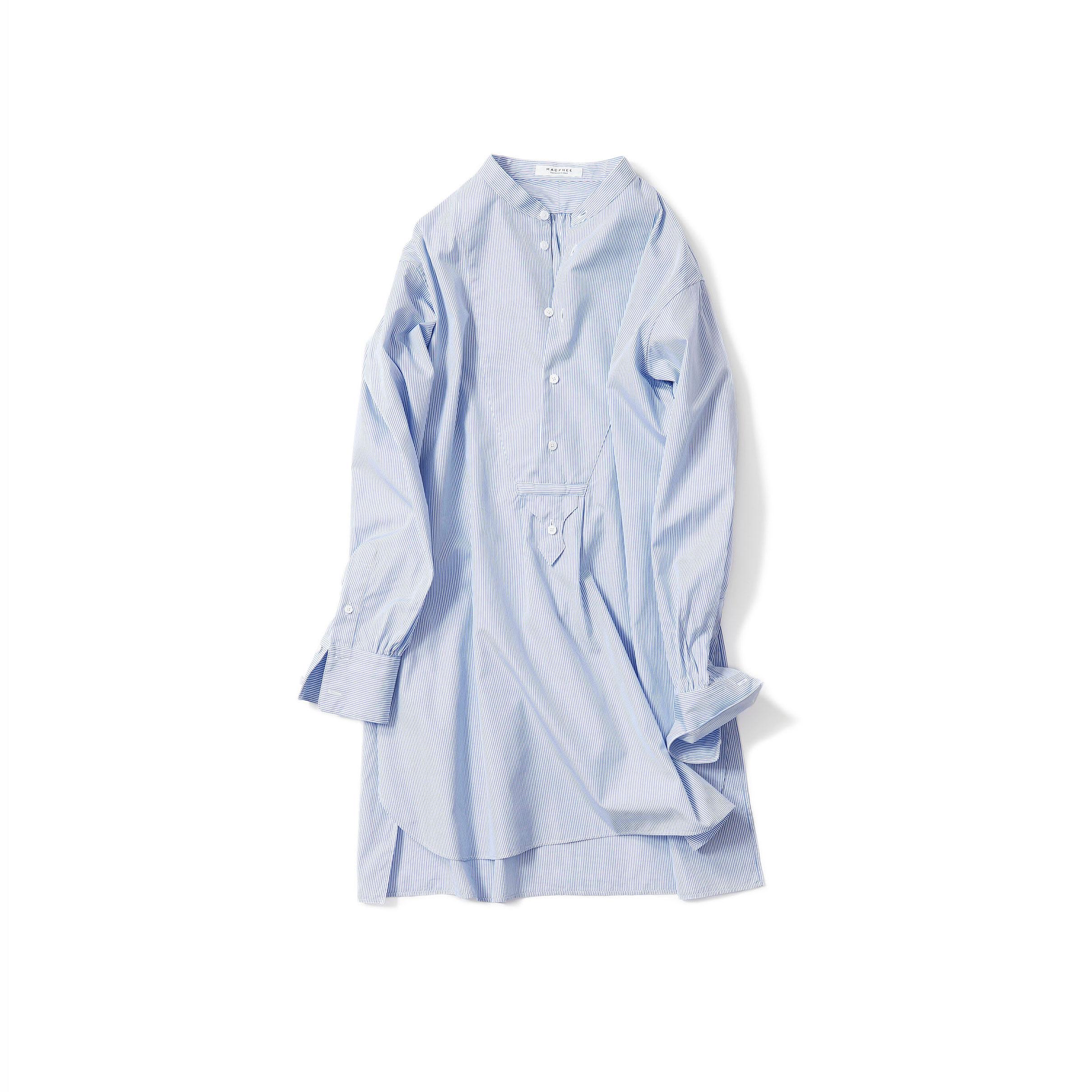 ドレスシャツ・サックスブルー