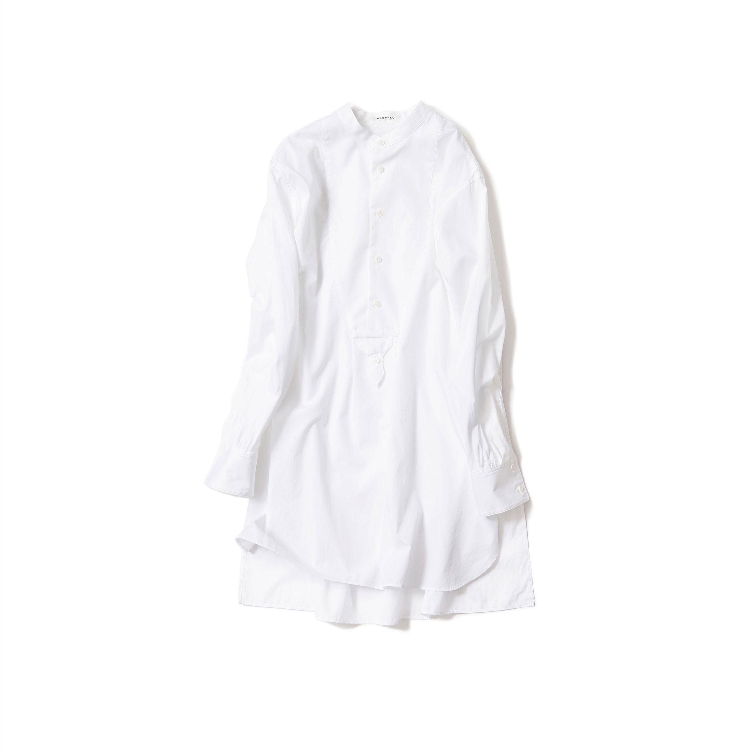ドレスシャツ・ホワイト