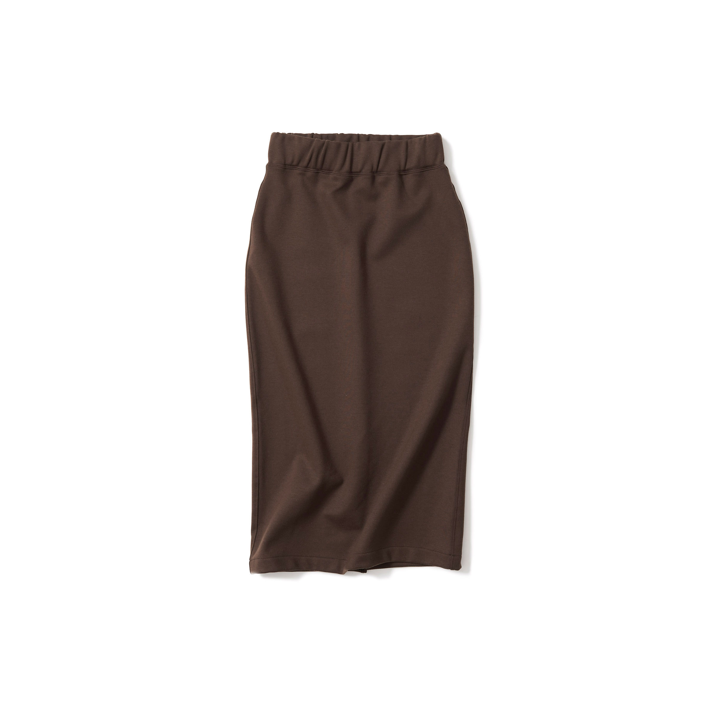 大人スウェットスカート・brown