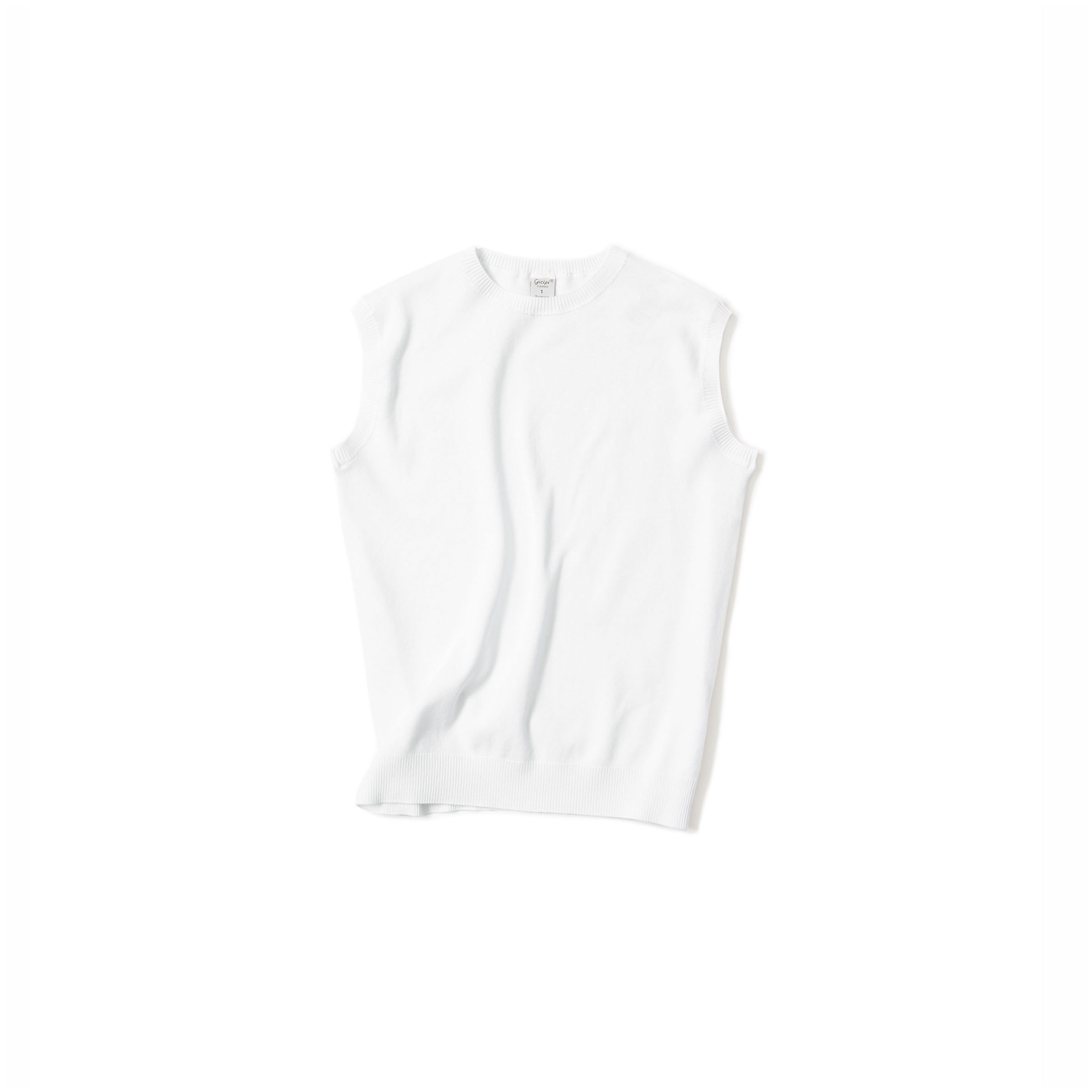 classic simple tank@white