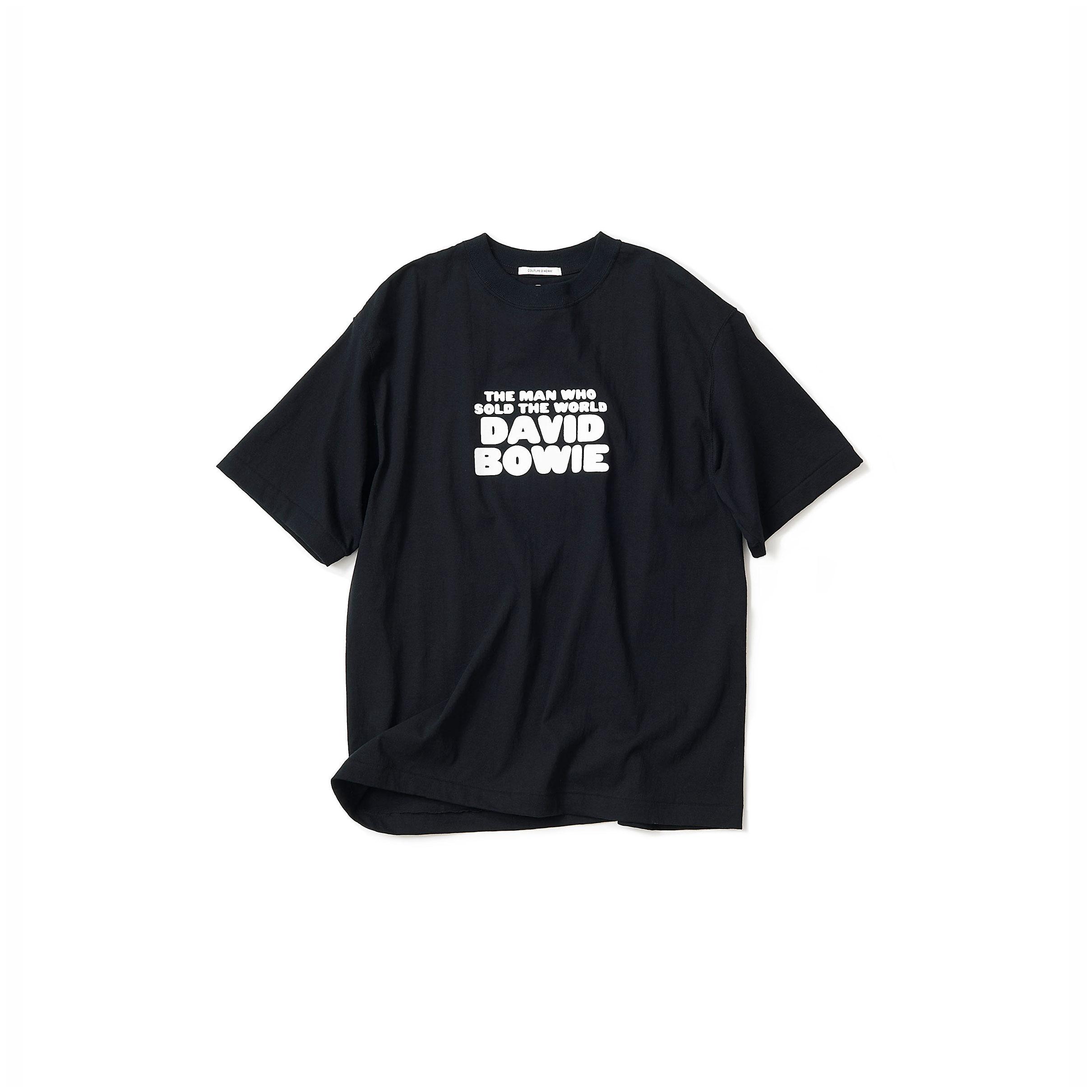 David Bowie  Tシャツ・black