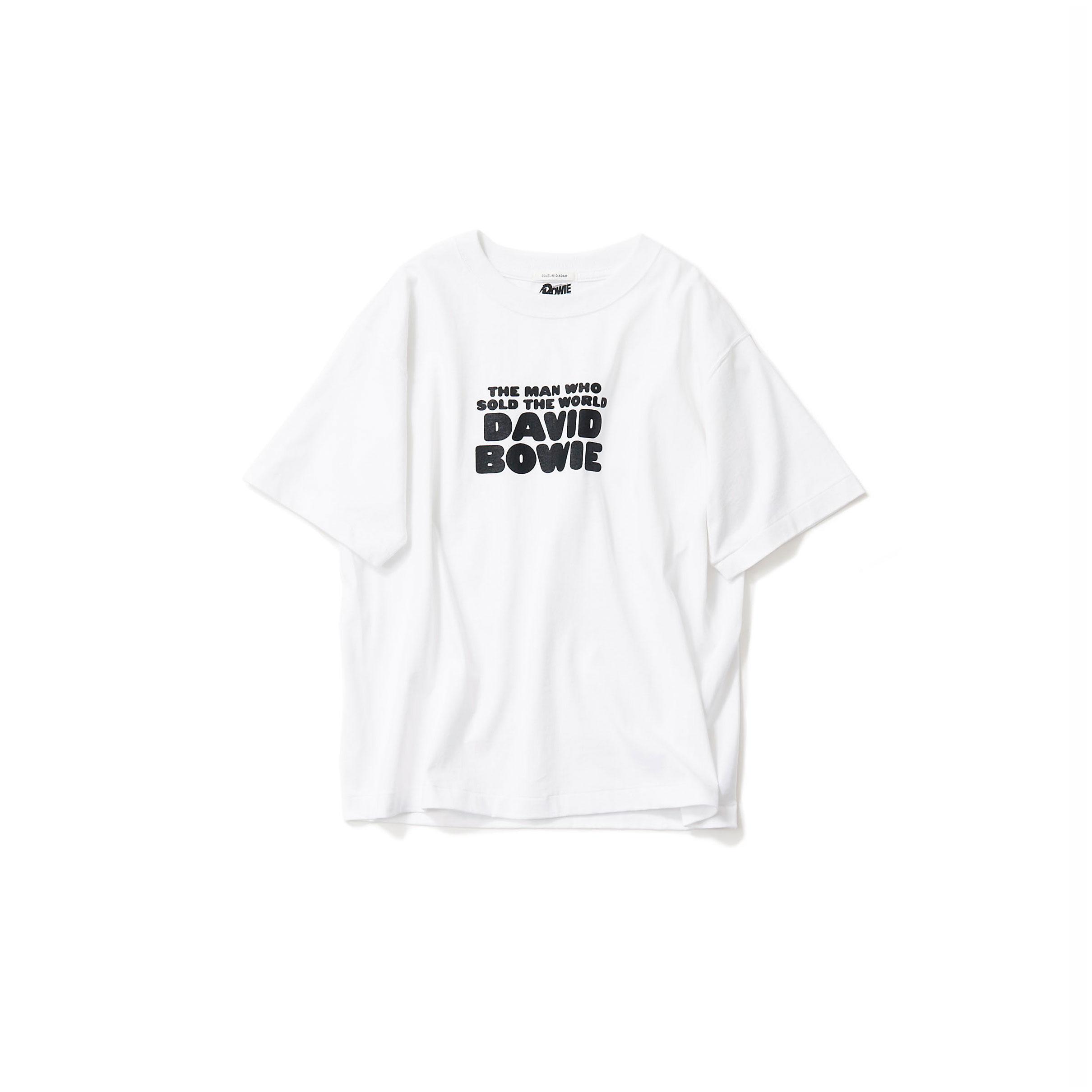 David Bowie Tシャツ・white